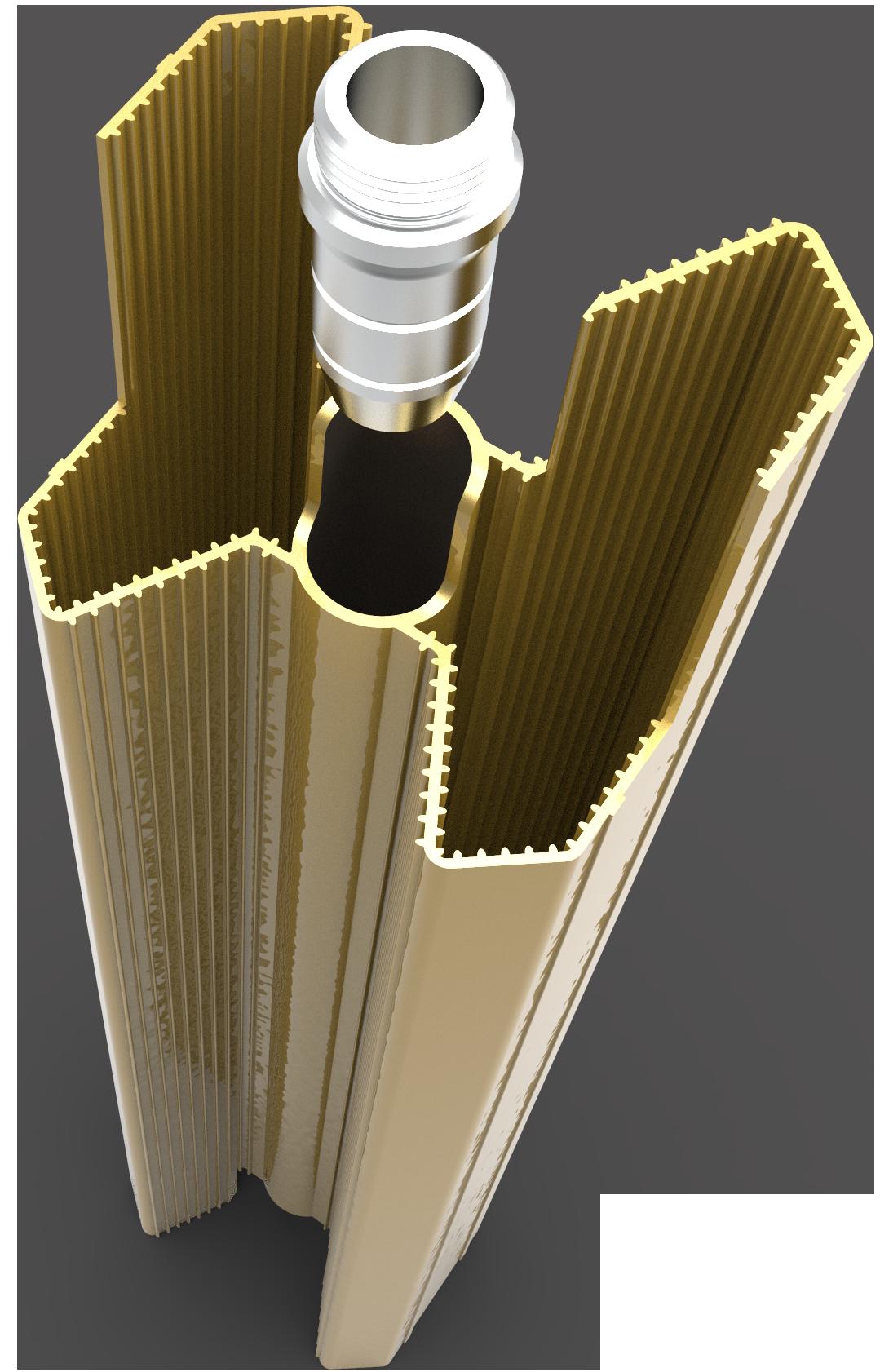 رادیاتور آنیت با تحمل فشار بالای ۵۰ بار و فشار لحظه ای ۱۲۰ بار