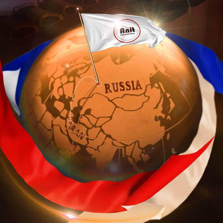 صادرات رادیاتور آنیت به کشور روسیه