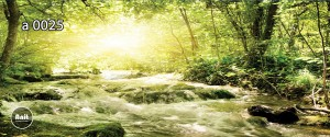 عکس رودخانه رادیاتور چاپ دار