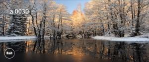 عکس زمستان رادیاتور طرح دار