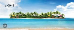 عکس جزیره رادیاتور شیشه ای