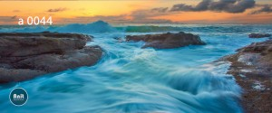 عکس دریا رادیاتور رنگی