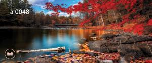 عکس دریاچه رادیاتور شیشه ای