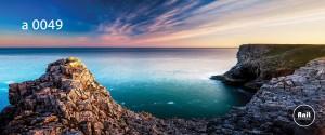 عکس دریا رادیاتور شیشه ای