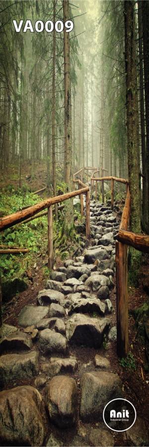 عکس راه جنگلی رادیاتور شیشه ای