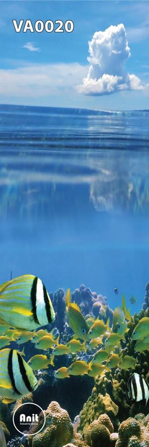 عکس ماهی رادیاتور شیشه ای