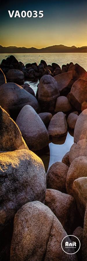 عکس صخره رادیاتور شیشه ای