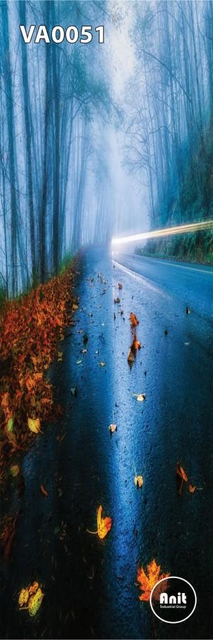 عکس جاده رادیاتور شیشه ای
