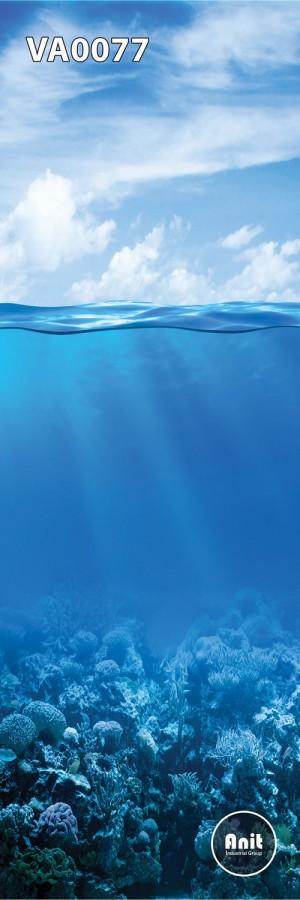 عکس اقیانوس رادیاتور شیشه ای