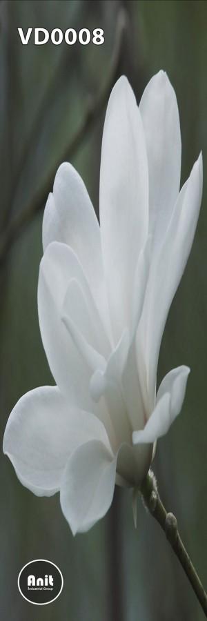 گل سفید رادیاتور طرح دار