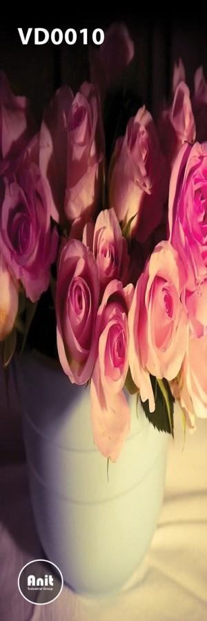 گلدان گل رز رادیاتور طرح دار