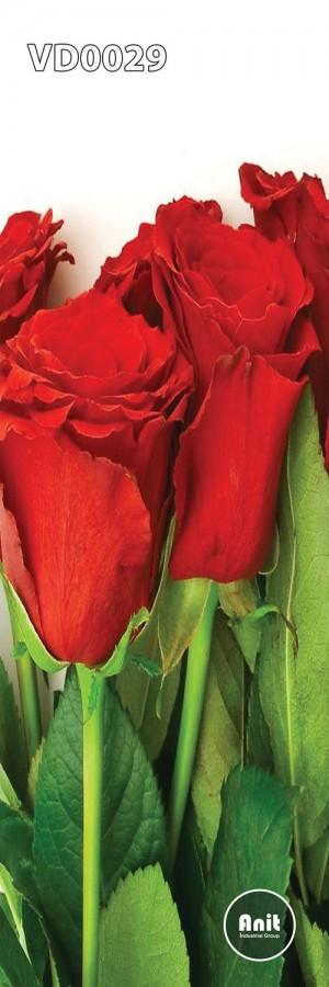 گل سرخ رادیاتور شیشه ای