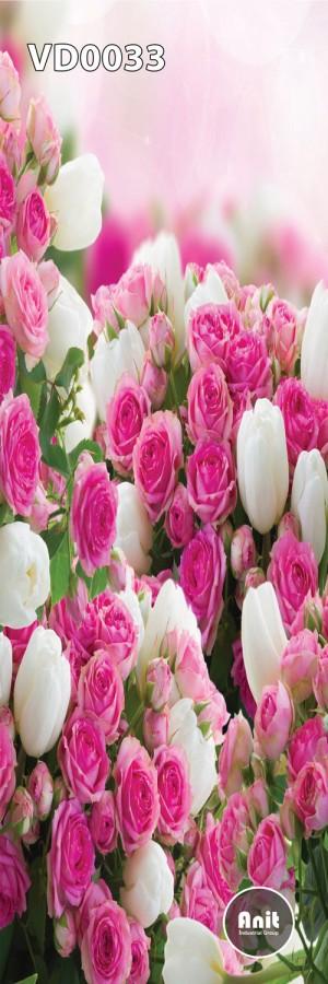 گل رز و لاله رادیاتور طرح دار