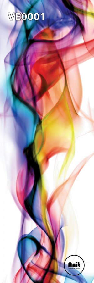 طرح شیشه رادیاتور دود رنگی