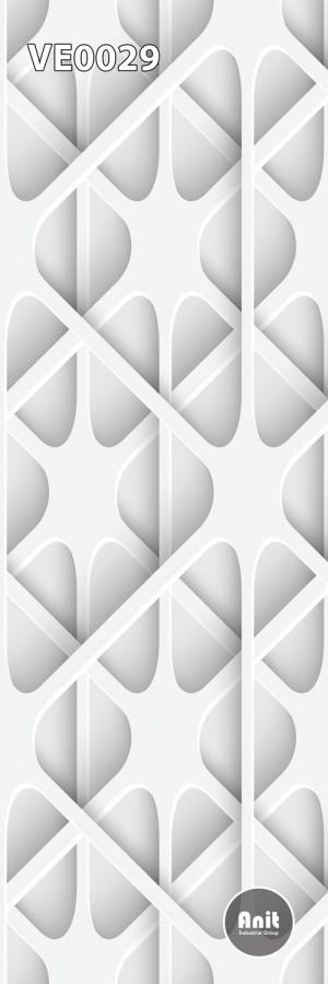طرح شیشه رادیاتور سیاه و سفید