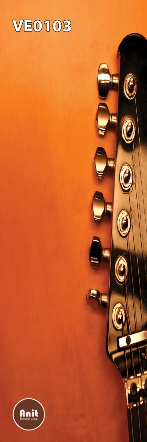 طرح شیشه رادیاتور گیتار