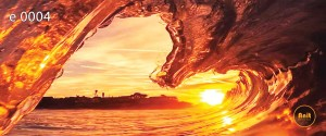 طرح شیشه رادیاتور دریا