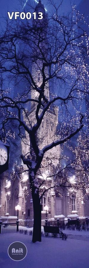 عکس برج شهر برفی رادیاتور شیشه ای