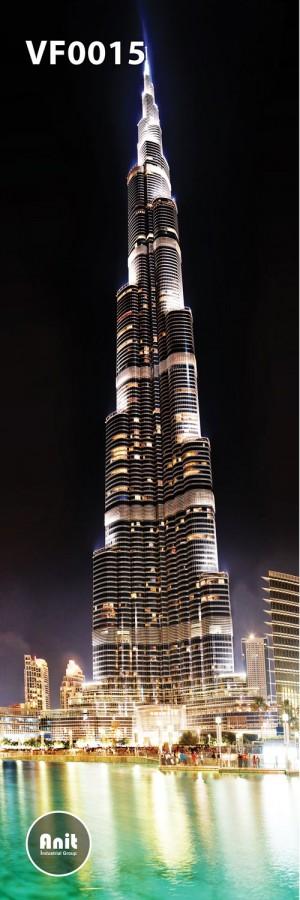 عکس برج رادیاتور شیشه ای
